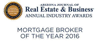 Arizona Mortgage Broker of the Year 2016 Image