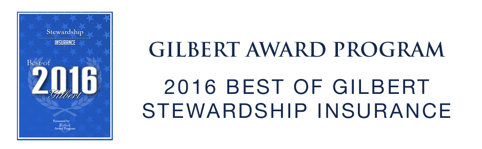 2016 Best of Gilbert - Stewardship Insurance