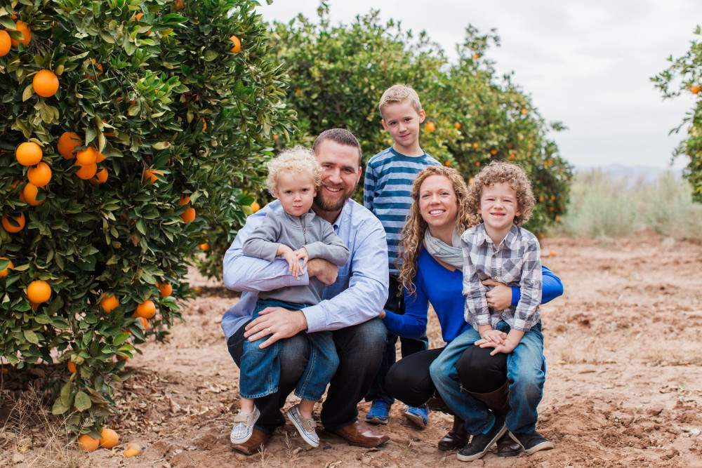 Brandon Ream Family