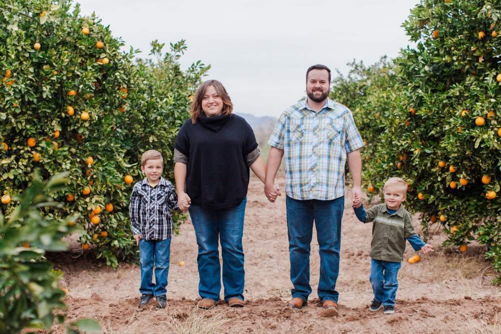 Ryan Delviken Family