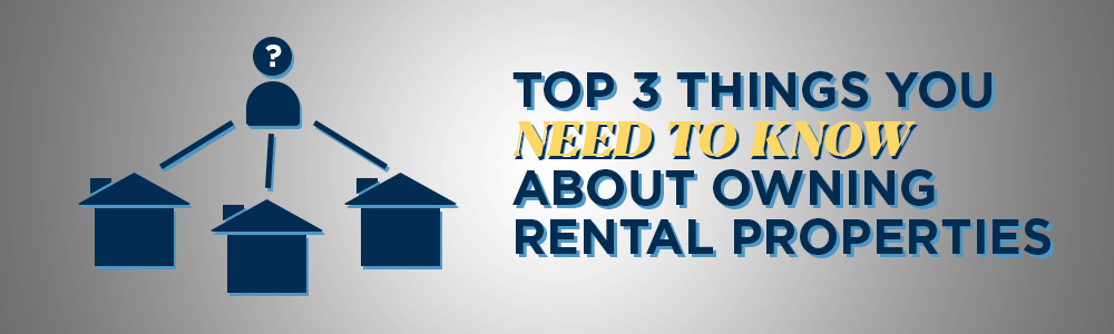Top Three Things You Must Know About Owning Houses for Rental Income Image